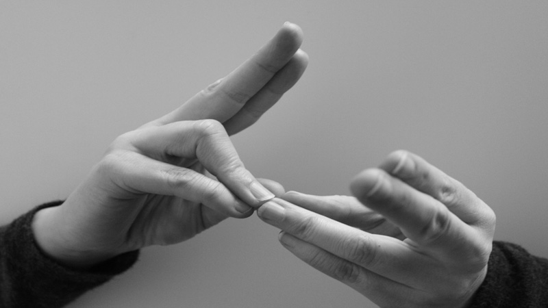 Curso de lengua de signos. Nivel I, II y III (Presencial)